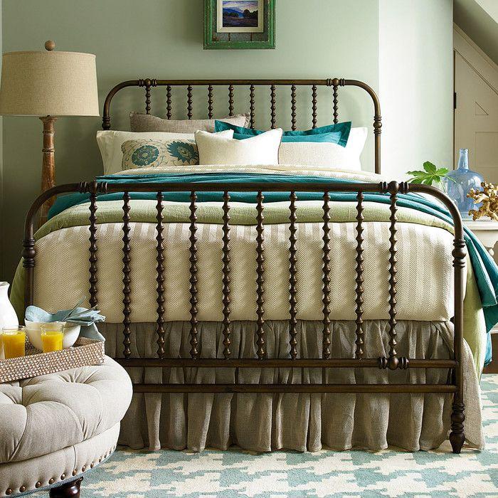 Paula Deen Home River House Metal Panel Bed U0026 Reviews | Wayfair