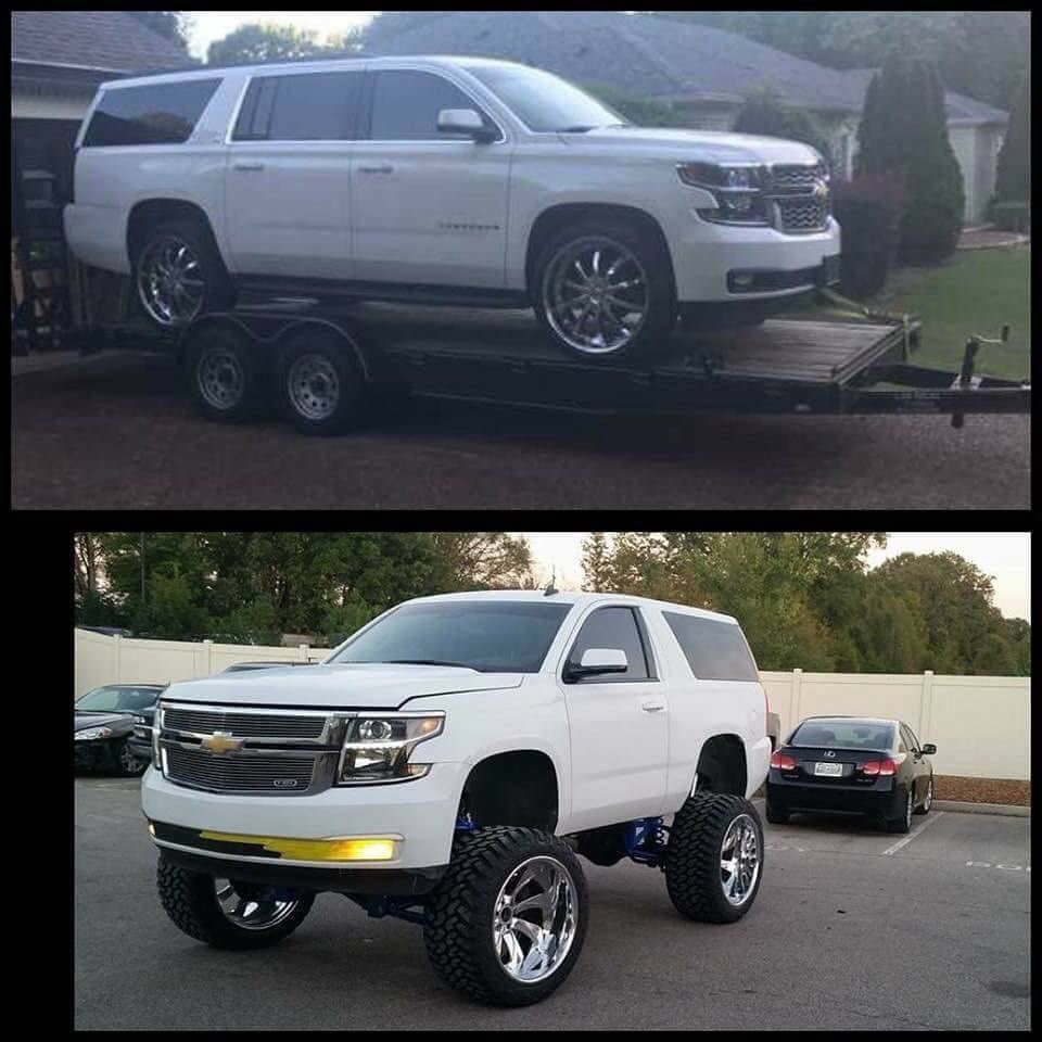 Trokiandotwo Door Conversion Thoughts Owner Whybelike Www Trokiando Com Lifted Chevy Trucks Lifted Chevy Chevy Tahoe