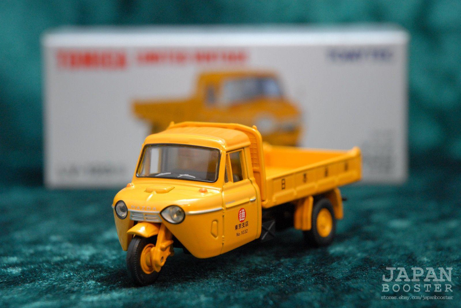 Tomica Limited Vintage Lv 123b 1 64 Mazda T2000 Dump Truck Yellow Ebay Diecast Mazda Diecast Toy