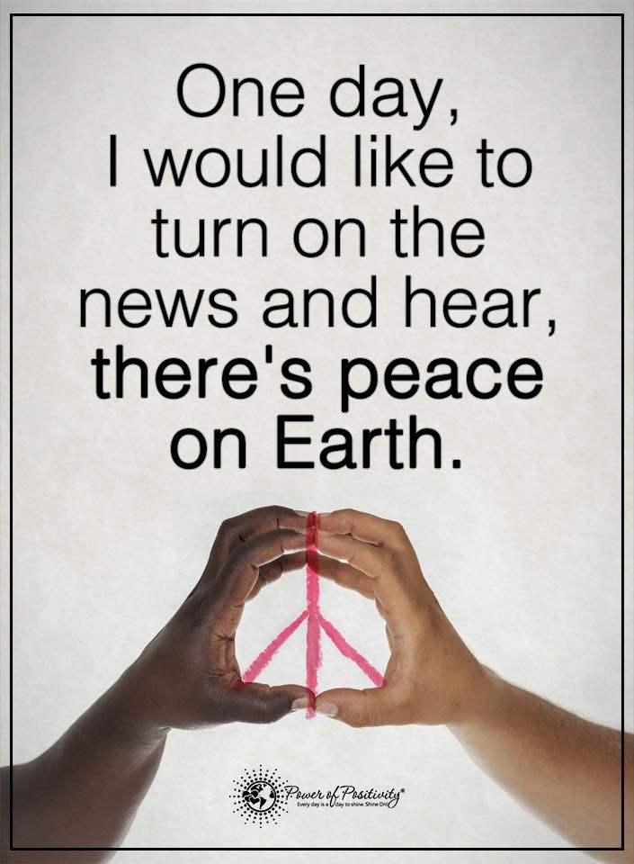 Peace One Day Quotes: One Day, I Would Like To Turn On The News And Hear, There