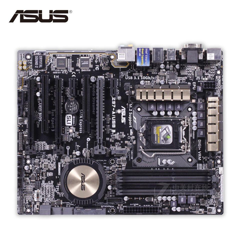 Asus Z97-A USB3 1 Original Used Desktop Motherboard Z97 Socket LGA