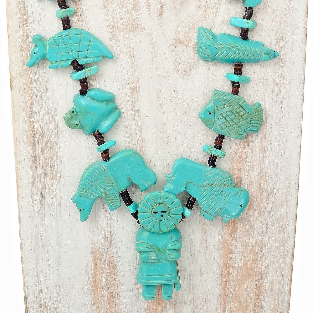 Kachina fetish pendants 4