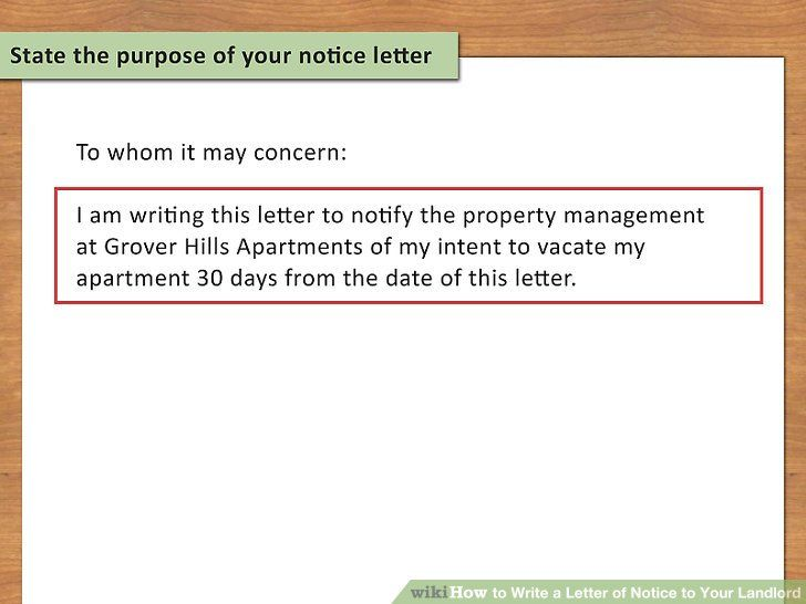 45+ How to write a 30 day notice letter to a tenant ideas in 2021