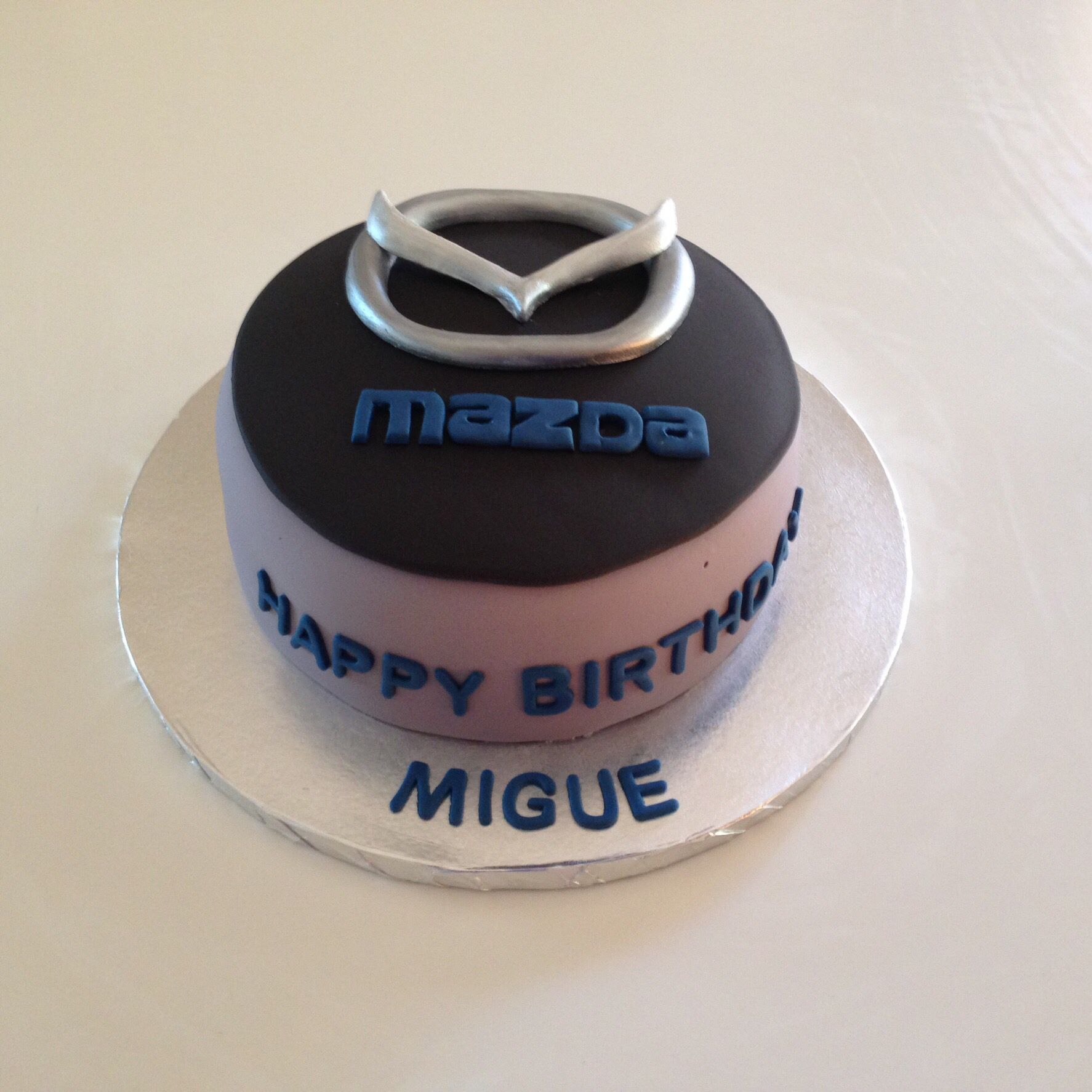 Mazda Cake Cake Decorating Videos Cake Logo Cake