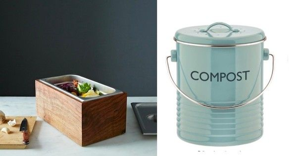 10 Stylish Countertop Compost Bins Compost Container Compost Bin Kitchen Compost Bin