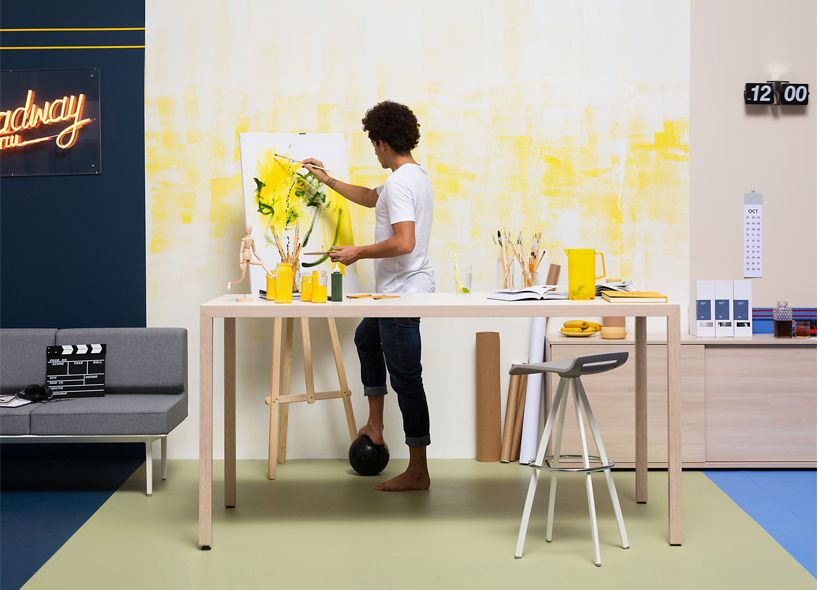 Working Actiu At Cool Orgatec And Promotes Wellbeing Productivity Om0v8wnN