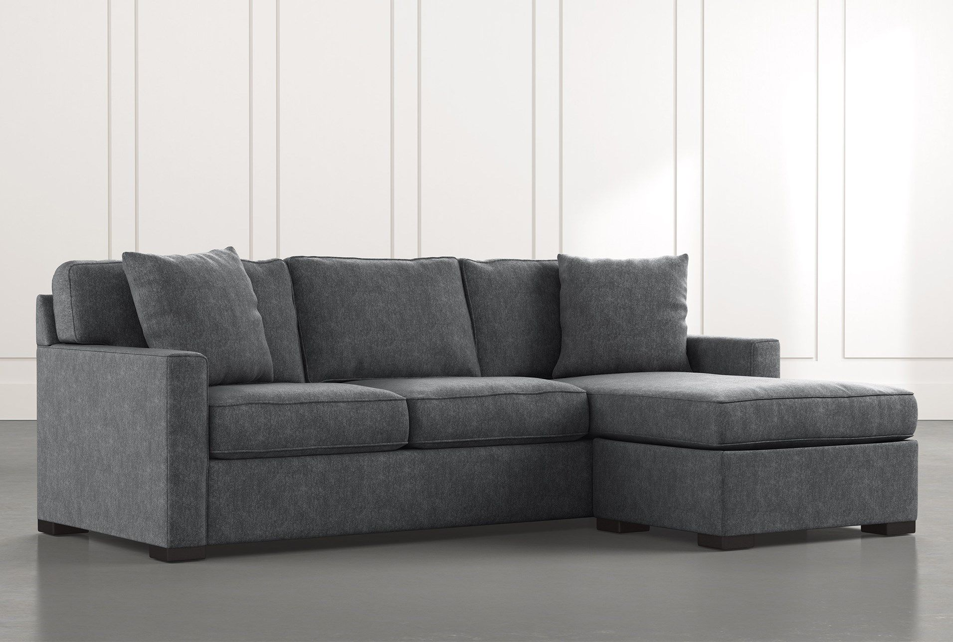 Incredible Taren Ii Dark Grey Reversible Sofa Chaise Sleeper With Gmtry Best Dining Table And Chair Ideas Images Gmtryco