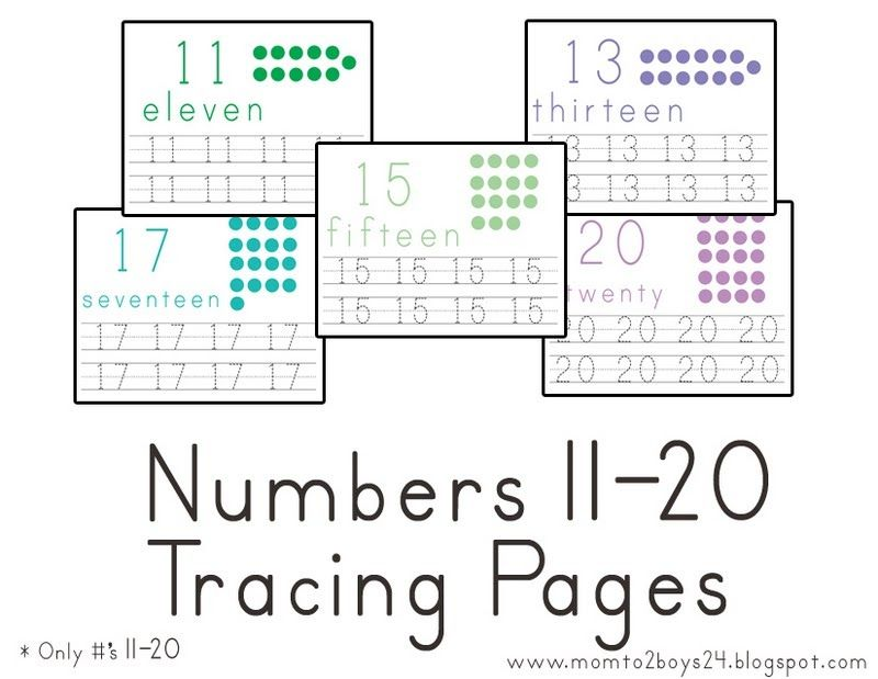 Can now be bought in a set with numbers 1-20 HERE This set