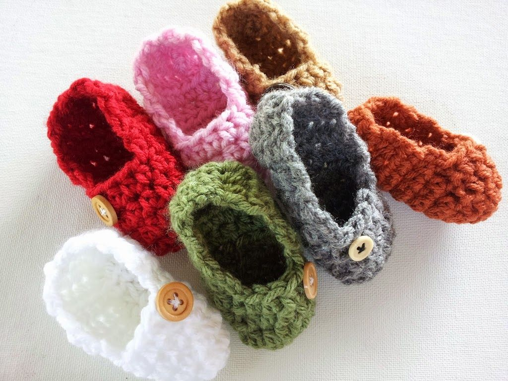 Free crochet baby booties patterns. Plenty of baby shoes to choose ...
