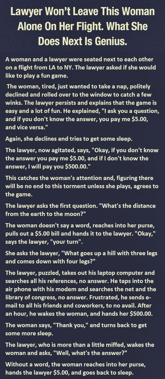 This Woman Beats The Lawyer Funny Jokes Funny Joke Stories