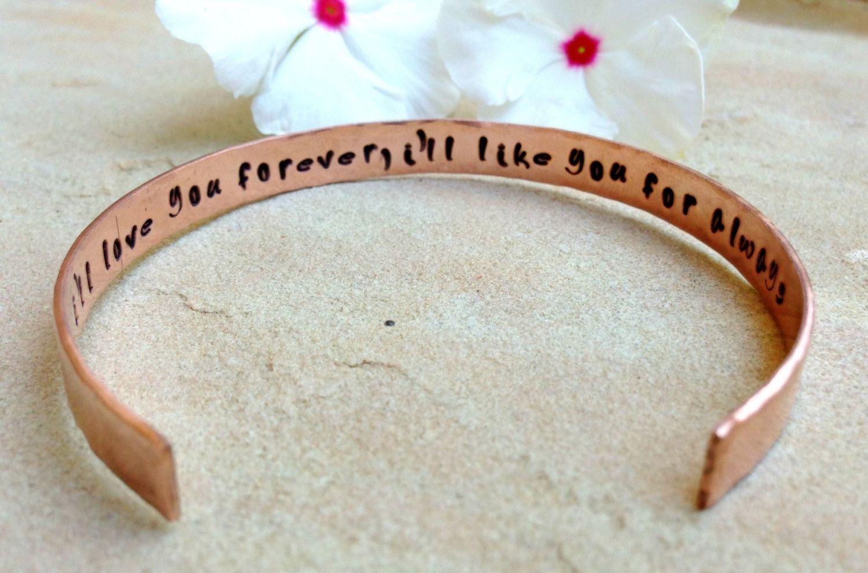 mother daughter quote bracelet secret message i by natashaaloha $25 00