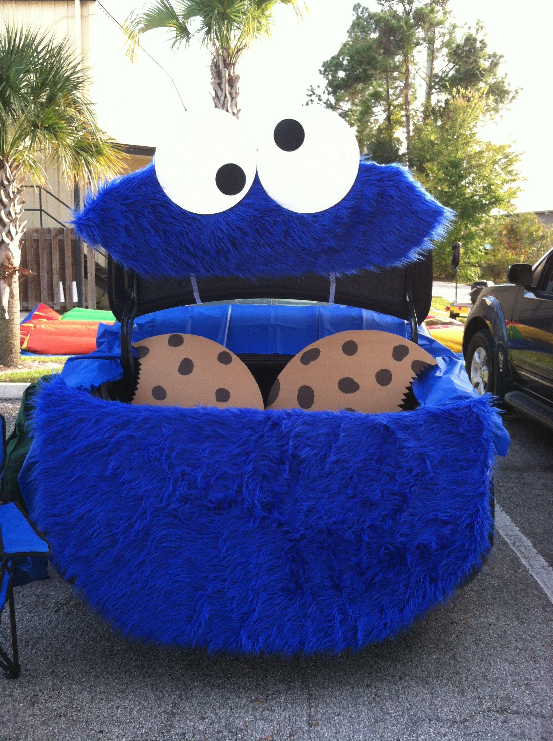 Monster Halloween Cookies: Trunk Or Treat, Cookies
