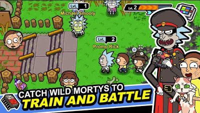 Rick and Morty Pocket Mortys Mod Apk Download Android