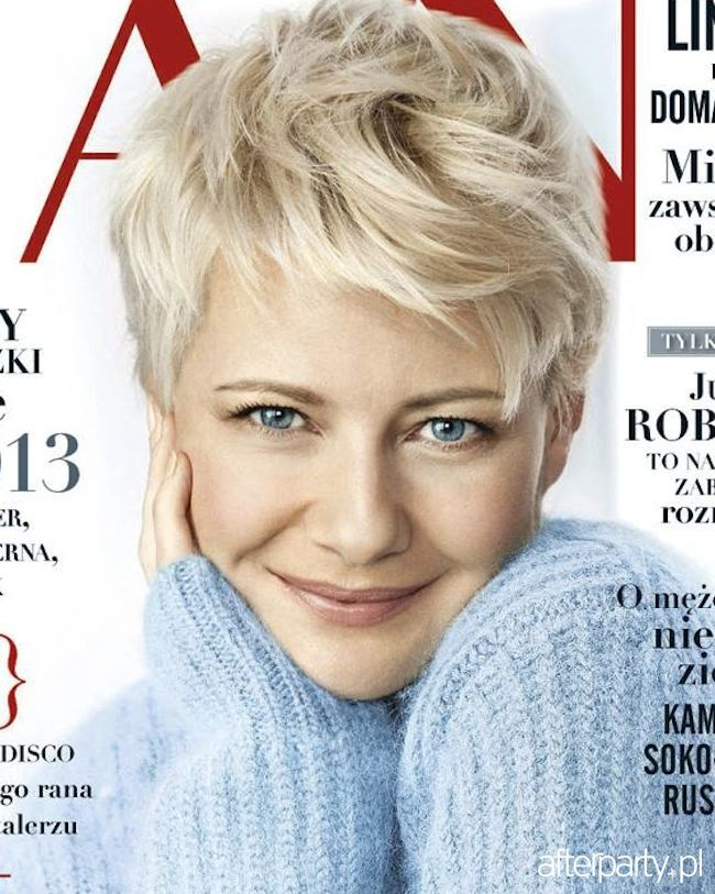 Kożuchowska Fryzura Google Search Blond Pixi Kort Haar Und Haar