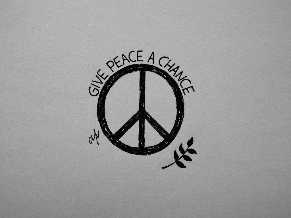 John lennon give peace a chance by madebymv tell pinterest john lennon give peace a chance by madebymv buycottarizona