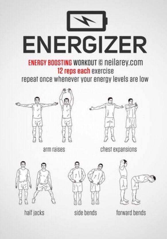 ⚡️Energizing & Morning Workouts⚡️ ⚡️Energizing & Morning Workouts⚡️ #Health #Fitness #Trusper #Tip