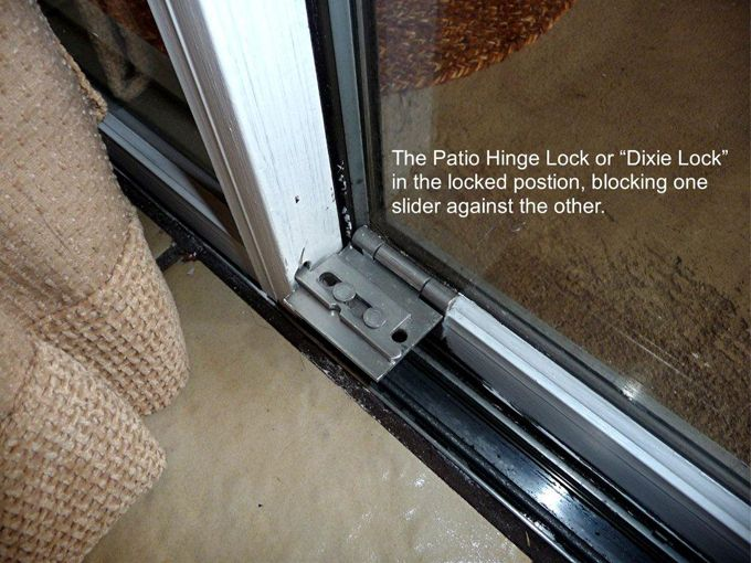 Dixie Lock Door Locks Sliding Patio Security