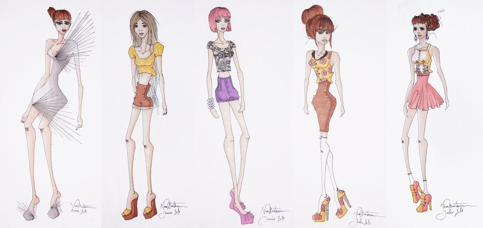Sketchy Fashion | Fashion Sketches | Pinterest | Fashion sketches ...