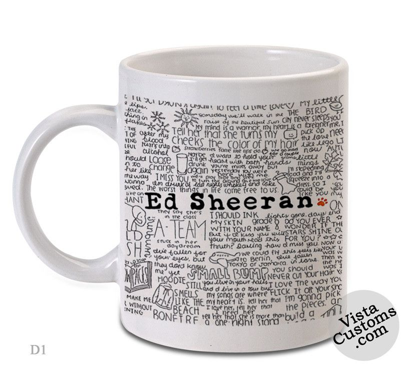 Ed Sheeran Quotes, Coffee Mug Coffee, Mug Tea, Design For Mug, Ceramic