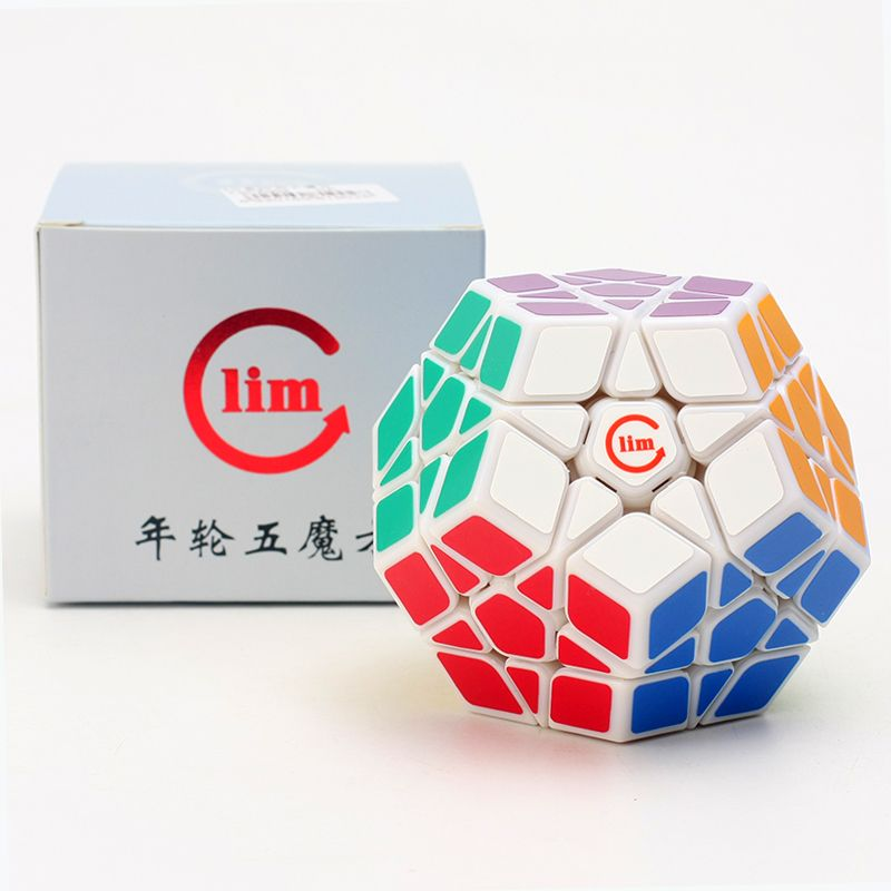Newest Fangshi Funs Lim Ball in Cube 3x3x3 Stickerless Magic Cube Colorful Toy