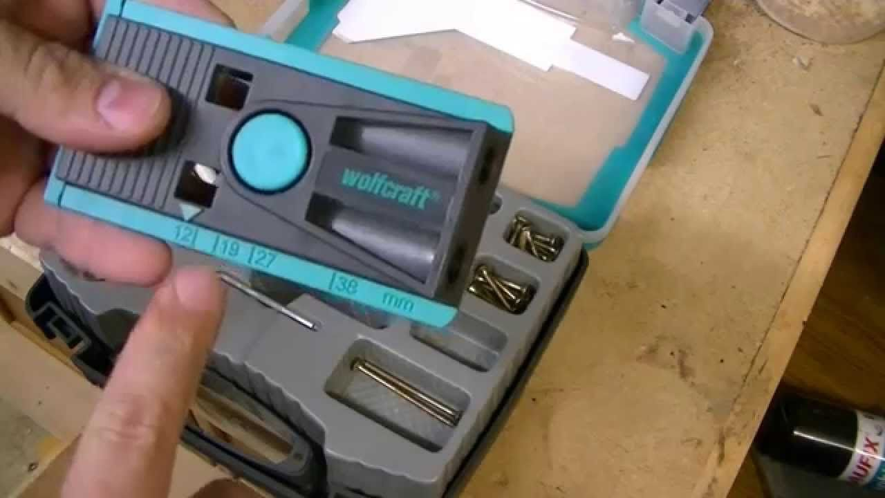 Wolfcraft Undercover Jig - cheaper version of a pocket hole jig ...