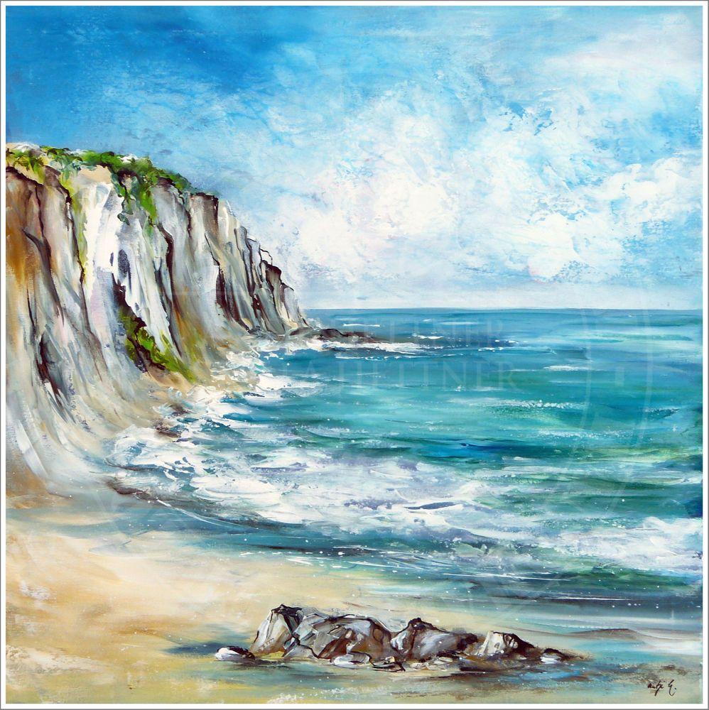 Antje hettner bild original kunst gem lde leinwand malerei abstrakt xxl acryl malen - Handgemalte bilder auf leinwand ...