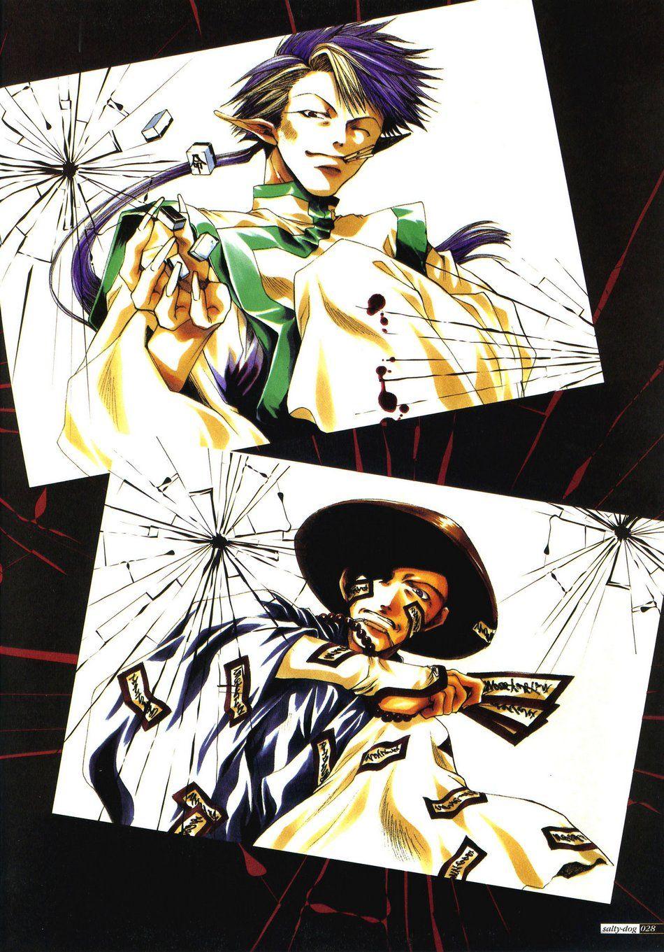 Official Saiyuki Art