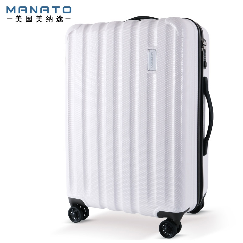191.20$  Watch now - http://ali1vq.worldwells.pw/go.php?t=1000003337096 - Manato Unisex ABS Luggages Anti Scratch PC Suitcase Trolley Suitcase Caster Lockbox Male Female Hard Case Luggage 28 Inch 191.20$