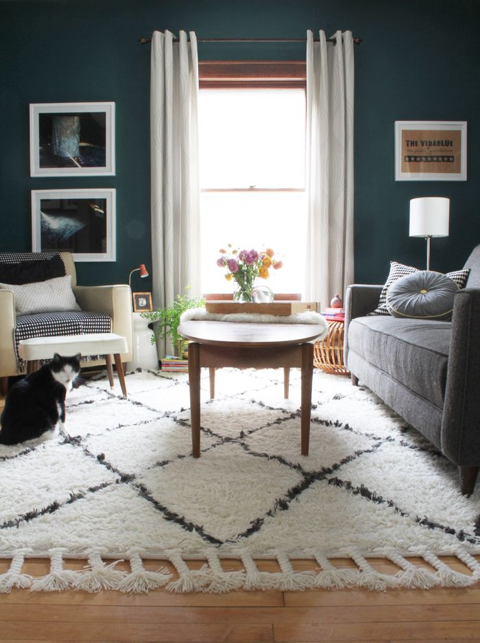 How to Choose Living Room Rug for Cozy Room | HUES of TEAL ...