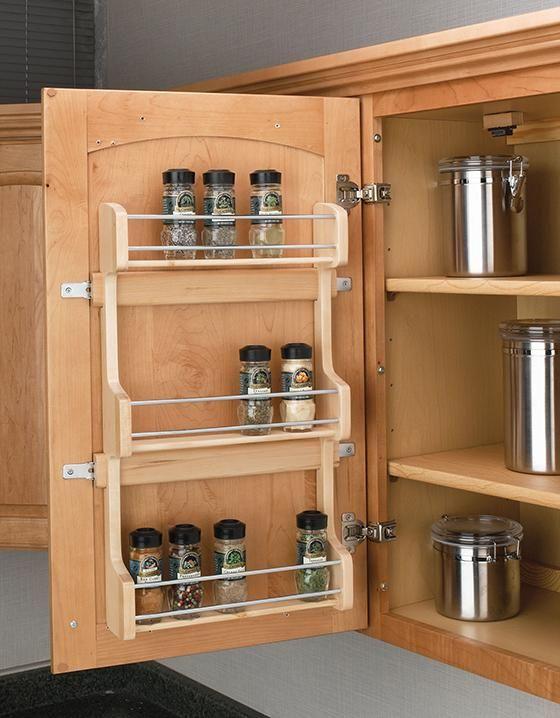 Rev A Shelf Door Mount Spice Rack Spice Racks For Cabinets Keep Your. Kitchen  OrganizationKitchen ...