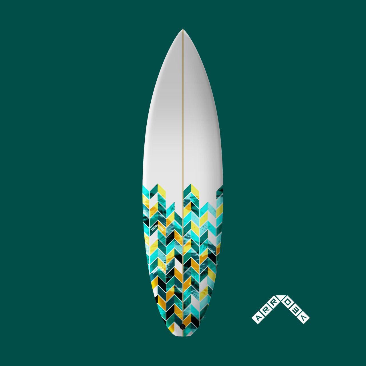 Arrow surfboard by theCoastalCity