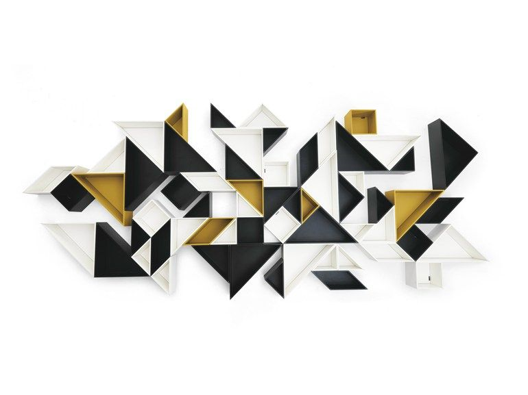 tangram b cherregal by lago design daniele lago decoraci n pinterest. Black Bedroom Furniture Sets. Home Design Ideas