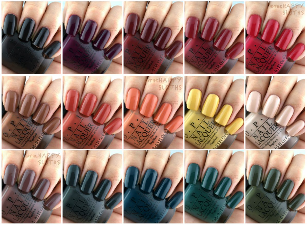 OPI Fall 2016 Washington DC Collection: Review and Swatches | OPI ...