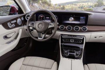 Mercedes Benz E Class Coupe 2016 Interior Leather Macchiato