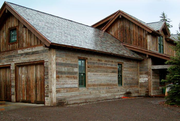 Barnwood siding on pinterest barn siding barn wood for Wood look siding