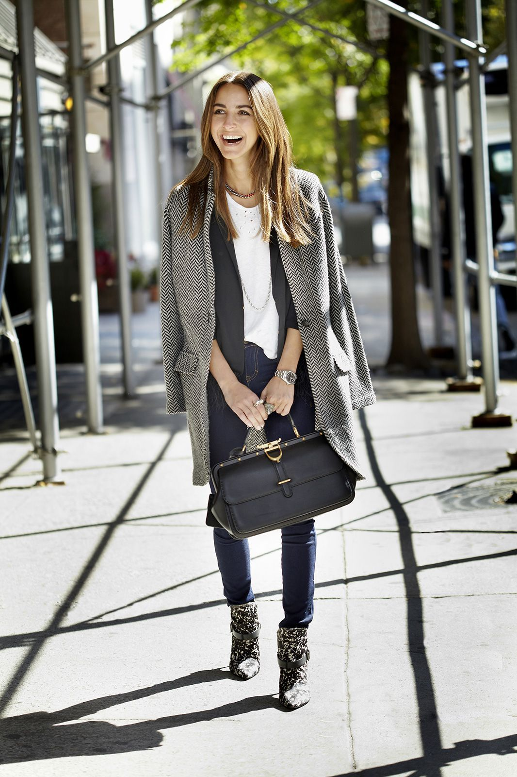 1 Girl, 4 Looks: Lessons In Style-Blogging From Something Navy #refinery29
