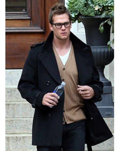 dae3e802e3bdf Tom Brady in Boston We like to think that Tom Brady has an alarm in his  house devoted to the arrival of cardigan weather. It sounded and he