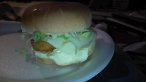 Best Chicken Sandwich I ever had!!! This is a copy cat recipe from Wendy's. There's is called Monterey Ranch Chicken Sandwich!
