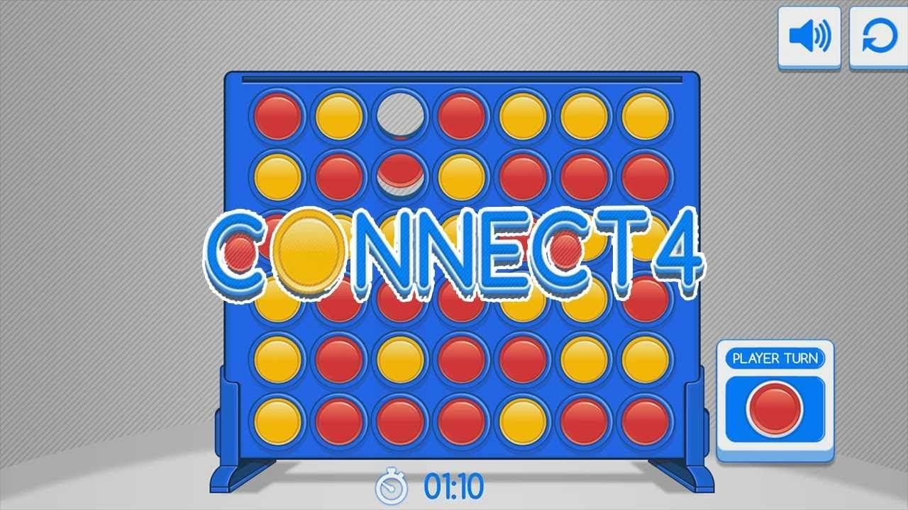 Connect 4 Four In A Row Gameplay Review Strategy Webgl 2player On Games Online Games Gameplay