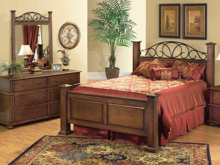 Best Kingsley 5 Piece Queen Bedroom Set Bedroom Panel 400 x 300