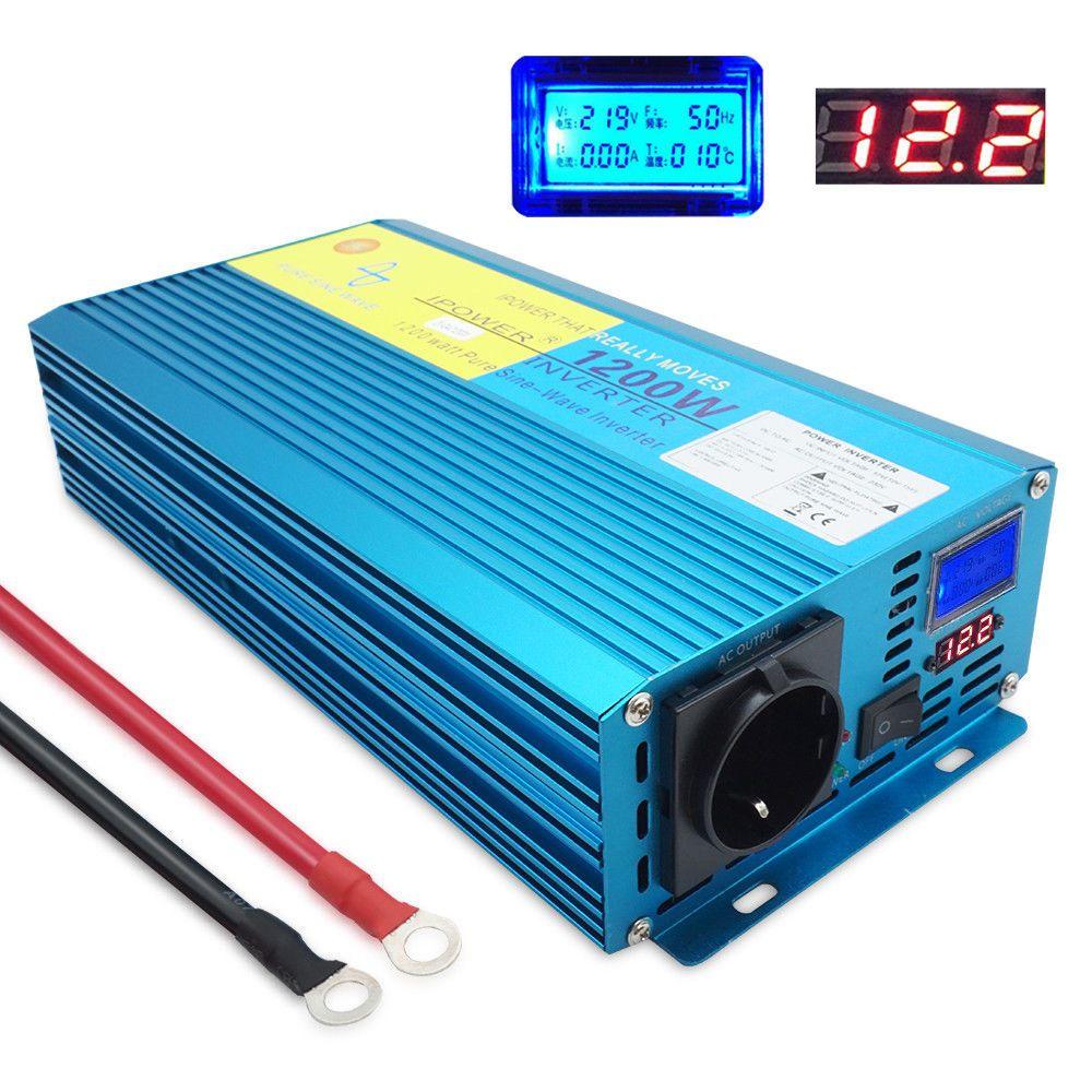 Spannungswandler 1200w 2400w Reiner Sinus Wechselrich Spannungswandler 1200w 2400w Reiner Sinus Wechselrichter Spannungswandler Wechselrichter Spannung