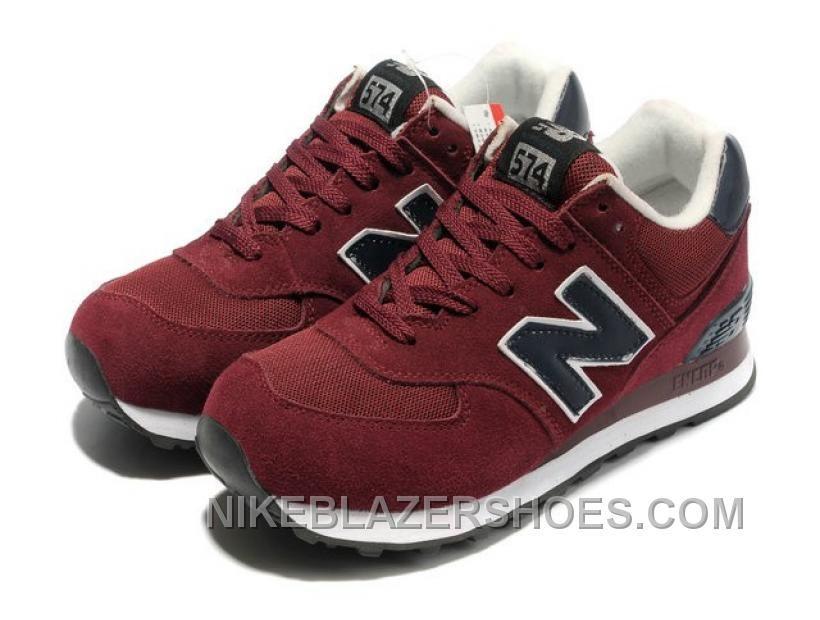 new balance hommes 574 rouge
