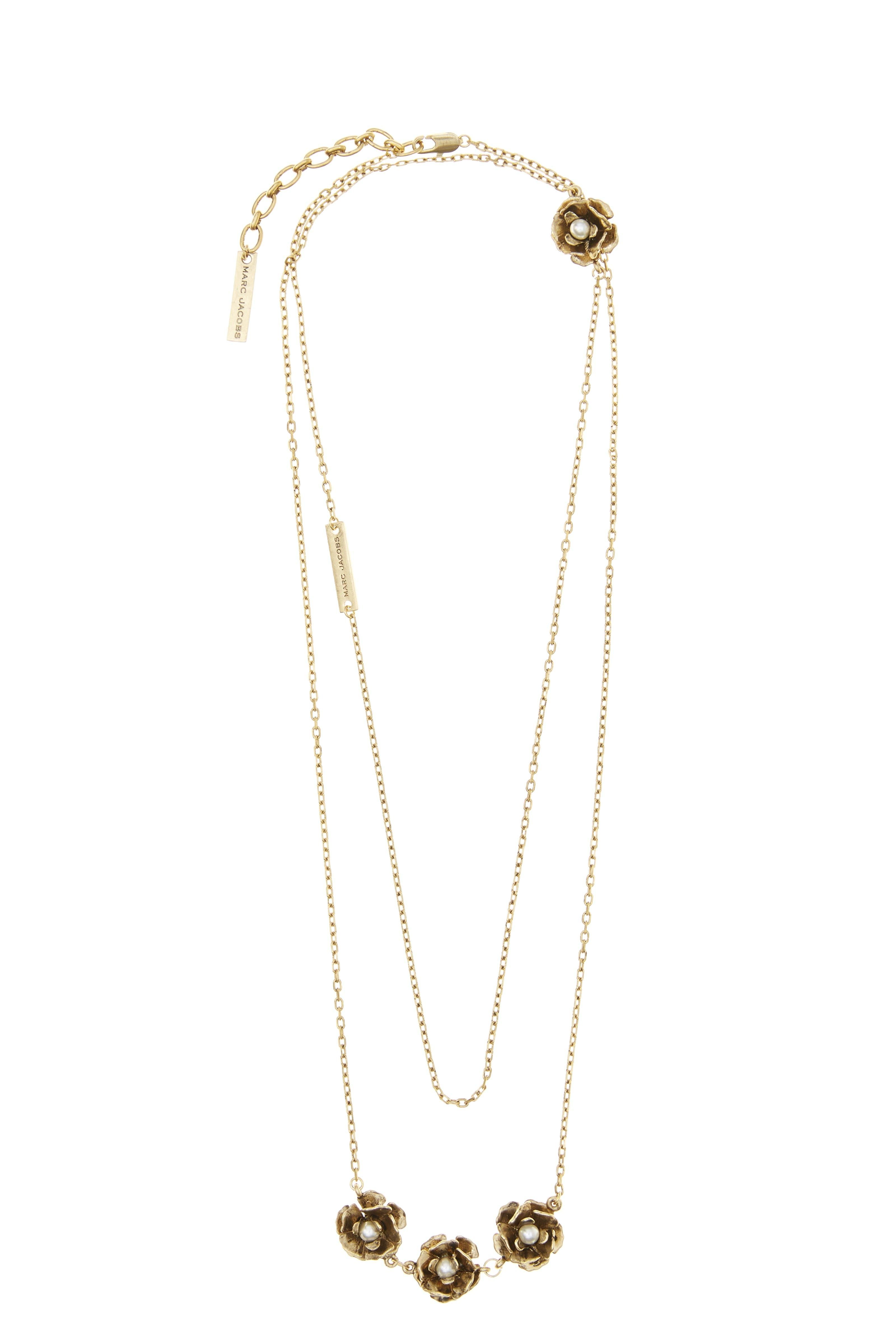 Marc Jacobs Necklaces, Silver, Sterling Silver, 2017, One Size