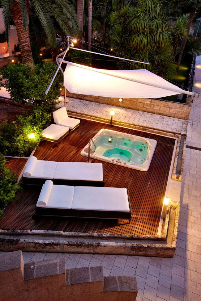 vasca idromassaggio da esterno - Cerca con Google | Jacuzzi ...