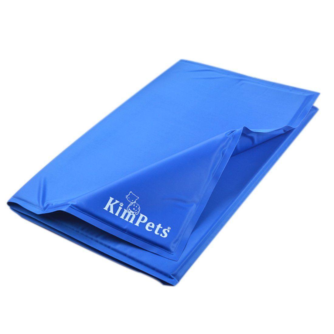 Xshion Pet Cooling Mat Dog Cat Self Cool Mat Blue M Click