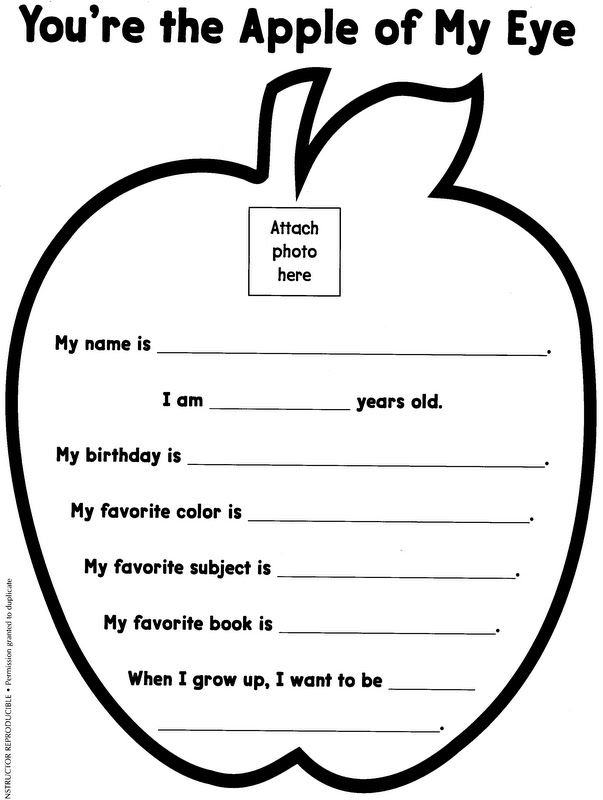 Apple Themed Coloring Pages : Apple art projects for preschoolers school