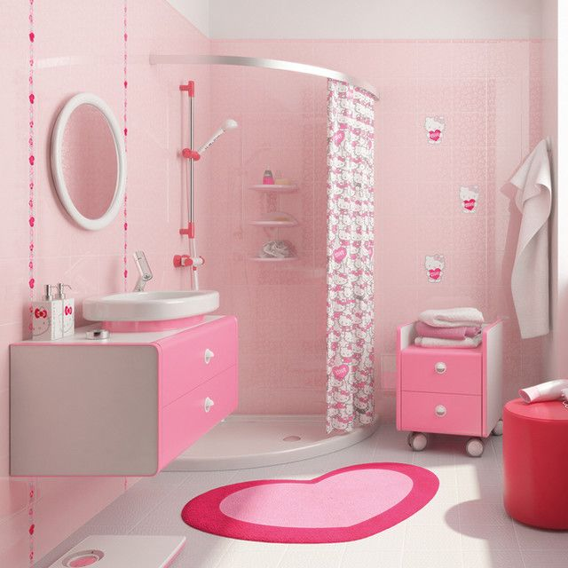 Hello Kitty Girls Bathrooms on Hello Kitty Bathroom - Best Bathrooms Design  Ideas