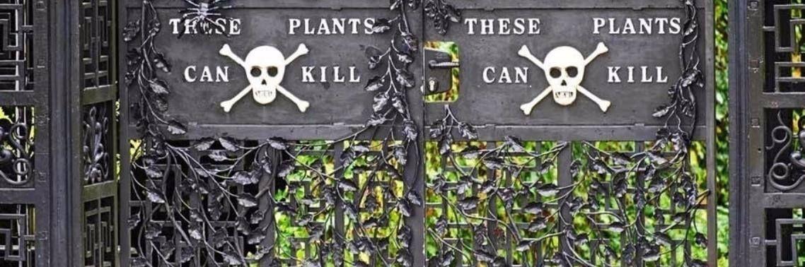 De geur van rozen in de meest giftige plantentuin ter wereld