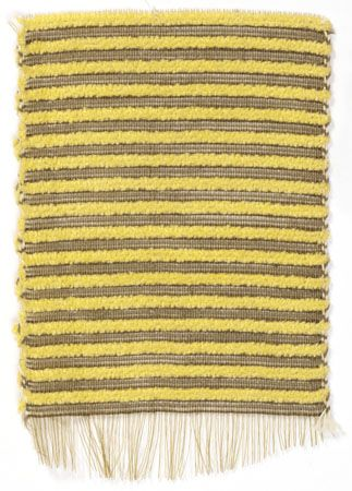 The Josef & Anni Albers Foundation Anni Albers, Untitled, n.d., horsehair, chenille, thread.