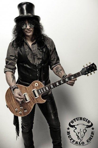 Slash the guitar legend